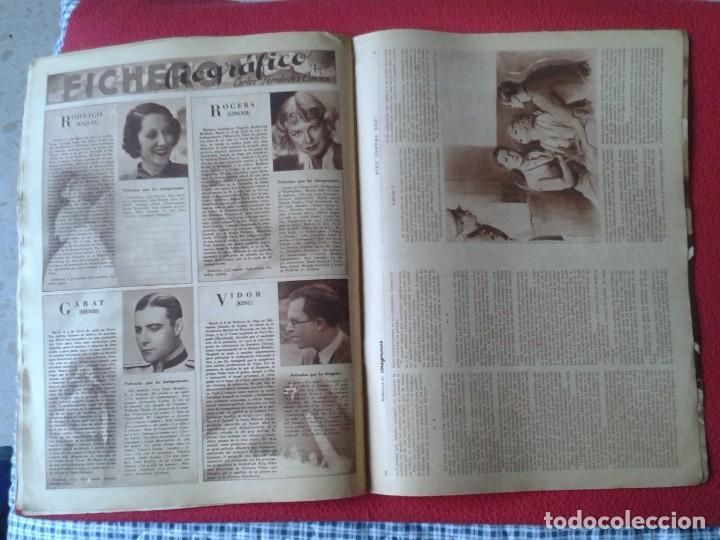 Cine: REVISTA CINEGRAMAS NÚM. 42 30 JUNIO DE 1935 ADRIENNE AMES GINGER ROGERS CARLOS GARDEL MIRNA LOY..ETC - Foto 18 - 228007340