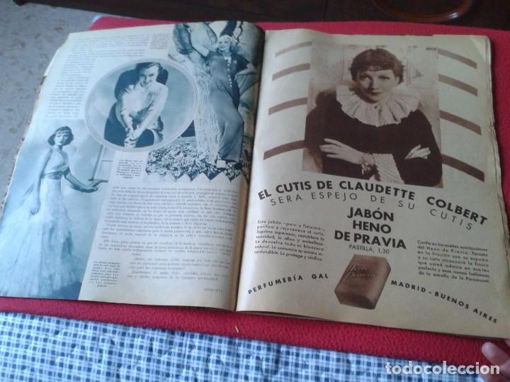 Cine: REVISTA CINEGRAMAS NÚM. 42 30 JUNIO DE 1935 ADRIENNE AMES GINGER ROGERS CARLOS GARDEL MIRNA LOY..ETC - Foto 19 - 228007340