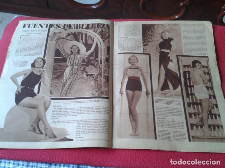 Cine: REVISTA CINEGRAMAS NÚM. 42 30 JUNIO DE 1935 ADRIENNE AMES GINGER ROGERS CARLOS GARDEL MIRNA LOY..ETC - Foto 20 - 228007340