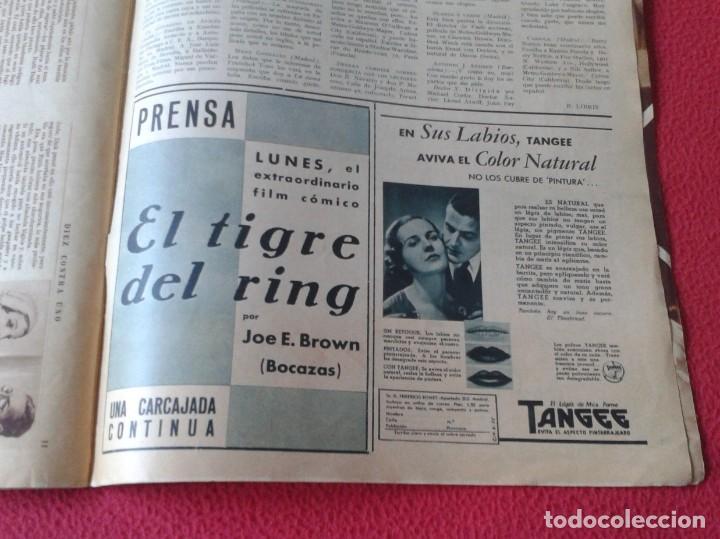 Cine: REVISTA CINEGRAMAS NÚM. 42 30 JUNIO DE 1935 ADRIENNE AMES GINGER ROGERS CARLOS GARDEL MIRNA LOY..ETC - Foto 22 - 228007340