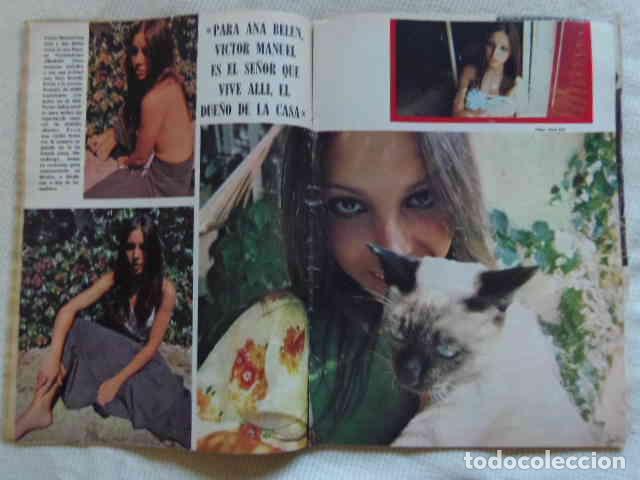 RECORTE SEXY ANA BELÉN FOTOS ARTÍCULO 1972 REPORTAJE (Cine - Revistas - Fotogramas)