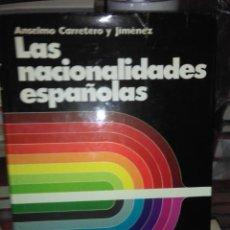 Cine: ANSELMO CARRETERO.LAS NACIONALIDADES ESPAÑOLAS.HYSPAMERICA. Lote 228062180