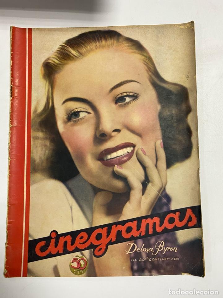 CINEGRAMAS. REVISTA SEMANAL.DELMA BYRON. AÑO III. NUMERO 89. MAYO 1936. VER FOTOS (Cine - Revistas - Cinegramas)