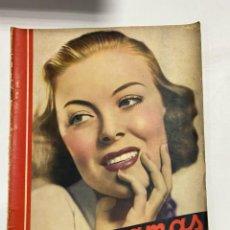 Cine: CINEGRAMAS. REVISTA SEMANAL.DELMA BYRON. AÑO III. NUMERO 89. MAYO 1936. VER FOTOS. Lote 228253890