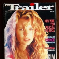 Cinema: REVISTA DE CINE - TRAILER - 1989. NUMERO 2. EL ENVIO CERTIFICADO ESTA INCLUIDO.. Lote 228322855