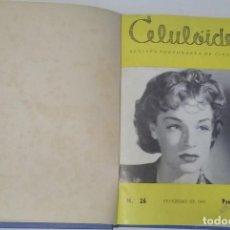 Cine: CELULOIDE. REVISTA DE CINEMA PORTUGUESA. VARIOS NÚMEROS (26, 30, 31, 32, 33, 34, 35, 36) (1960). Lote 228341235