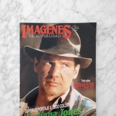 Cine: IMAGENES - Nº 72 - 1989 HARRISON FORD, INDIANA JONES, ABYSS, THERESA RUSSELL, CANNES, JESSICA LANGE. Lote 228460935