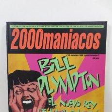 Cine: FANZINE 2000 MANÍACOS 20. Lote 229256395