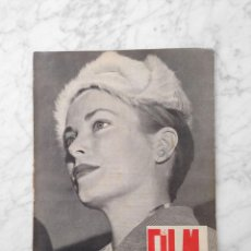 Cinema: FILM IDEAL - Nº 1 - 1956 - GRACE KELLY, PAOLO STOPPA, ORSON WELLES, CALABUCH, ANGEL MARTINEZ OLCOZ. Lote 229309480