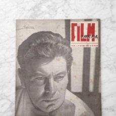 Cinema: FILM IDEAL - Nº 4 - 1957 - FRANCISCO RABAL, FRITZ LANG, EL TECHO, LA HISTORIA DEL CINE ESPAÑOL. Lote 229376920