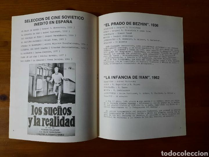 Cine: 8 CUADERNOS / PERIÓDICOS IMAGFIC 85 - Foto 3 - 229446270
