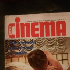 Cinéma: EURO CINEMA Nº 33-CATHERINE SPAAK-JLIET MILLS-SEAN CONNERY-JAMES BOND-ORSON WELLES. Lote 229484735