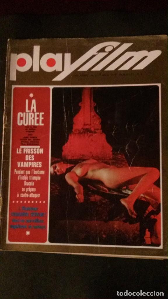 PLAYFILM Nº 3-EMMANUELLE-SHARON TATE-JANE FONDA-TINA AUMONT (Cine - Revistas - Otros)