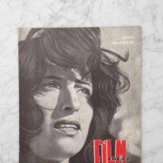 Cinema: FILM IDEAL - Nº 7 - 1957 - ANNA MAGNANI, LA STRADA, EXPRESIONISMO, ERIC VON STROHEIM, MARTA TOREN. Lote 229676010