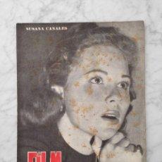 Cinema: FILM IDEAL - Nº 8 - 1957 - SUSANA CANALES, LA STRADA, EMILIO FERNANDEZ, ANASTASIA, OSCARS, RASHOMON. Lote 229676820