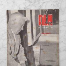 Cine: FILM IDEAL - Nº 9 - 1957 - CHARLOT, CANNES, LAS DIABOLICAS, GIOVANNA RALLI, FELLINI, NEORREALISMO. Lote 229677855