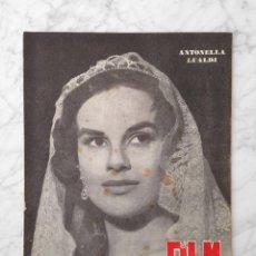 Cine: FILM IDEAL - Nº 10 - 1957 - ANTONELLA LUALDI, JOHN FORD, LA METAMORFOSIS DE KAFKA, LADISLAO VAJDA. Lote 229679165