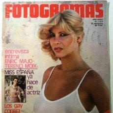 Cine: NUEVO FOTOGRAMAS Nº 1613 SEPTIEMBRE 1979 - VANESSA INGRID BERGMAN JEAN SEBERG TERENCI MOIX. Lote 229751130