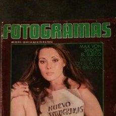Cinéma: FOTOGRAMAS 1395-1975-PILAR VELÁZQUEZ-MAX VON SYDOW-JOHN LENNON-JAUME SISA. Lote 229751840