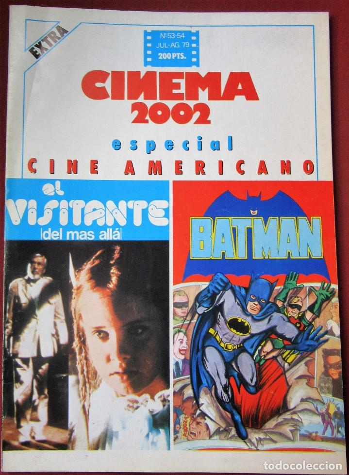 CINEMA 2002 NÚMERO 53-54 (Cine - Revistas - Cinema)