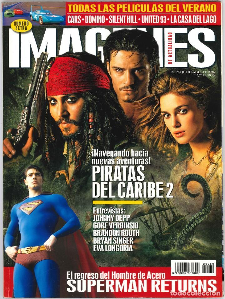 IMAGENES DE ACTUALIDAD 260 (Cine - Revistas - Imágenes de la actualidad)