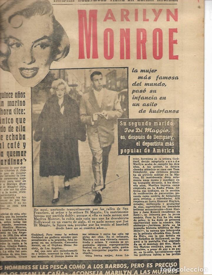 Cine: REVISTA DE CINE 7 FECHAS MADRID JULIO 1964 REPOSTAJE DE MARILYN MONROE - Foto 2 - 230073630
