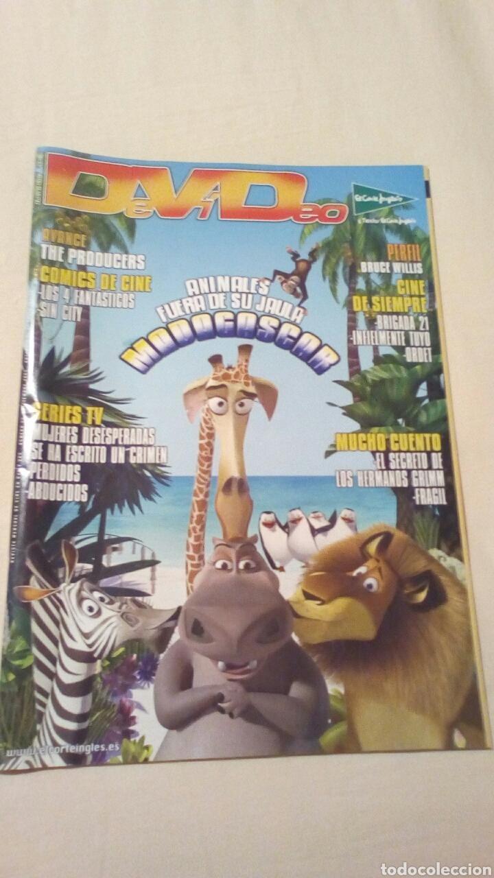 REVISTA DEVIDEO 52 DICIEMBRE 2005. CINE. MADAGASCAR (Cine - Revistas - Otros)
