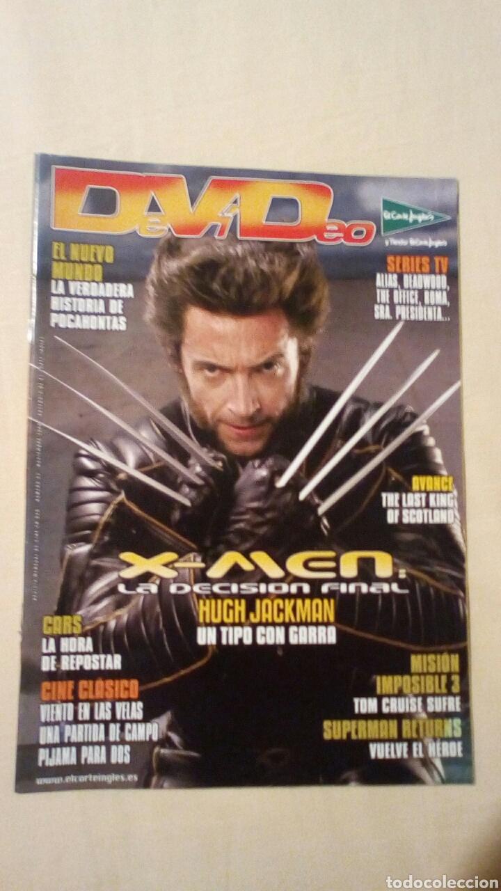 REVISTA DEVIDEO 62 NOVIEMBRE 2006 HUGH JACKMAN LOBEZNO CINE (Cine - Revistas - Otros)