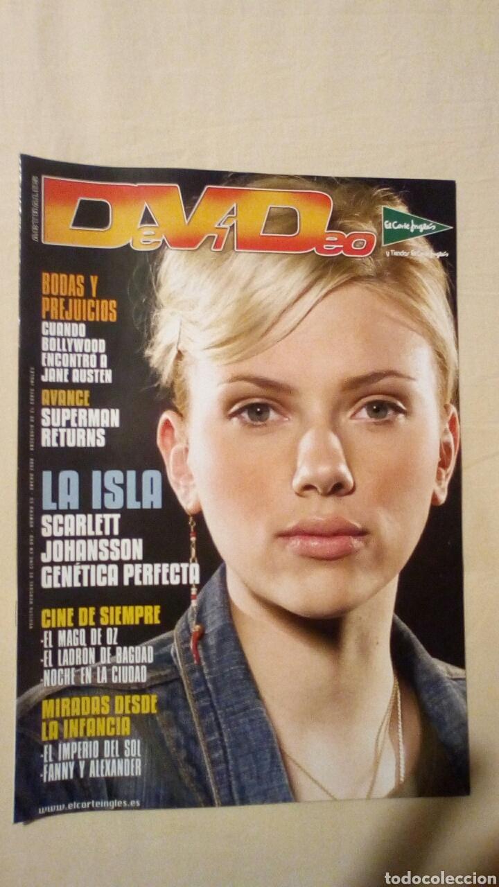 REVISTA DEVIDEO 53 DICIEMBRE 2006 SCARLETTT JOHANSSON CINE (Cine - Revistas - Otros)