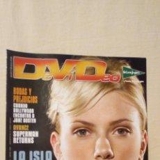 Cine: REVISTA DEVIDEO 53 DICIEMBRE 2006 SCARLETTT JOHANSSON CINE. Lote 230257730