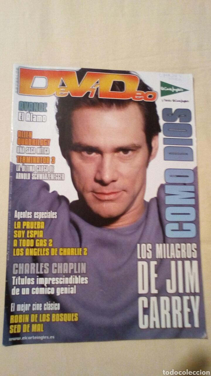 REVISTA DEVIDEO 30 DICIEMBRE 2003. JIM CARREY CINE (Cine - Revistas - Otros)