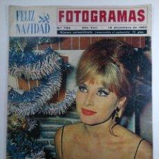 Cine: FOTOGRAMAS Nº 733 - AÑO XVII - 14 DICIEMBRE DE 1962 NÚMERO EXTRAORDINARIO. Lote 230378475