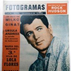 Cine: FOTOGRAMAS Nº 781 - AÑO XVIII - 15 DE NOVIEMBRE DE 1963. Lote 230379245