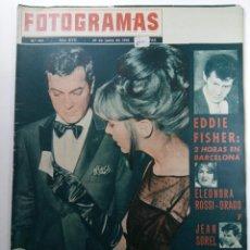 Cine: FOTOGRAMAS Nº 709 - AÑO XVII - 29 DE JUNIO DE 1962. Lote 230379340