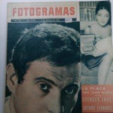 Cine: FOTOGRAMAS Nº 741 - AÑO XVIII - 8 DE FEBRERO DE 1963. Lote 230380090