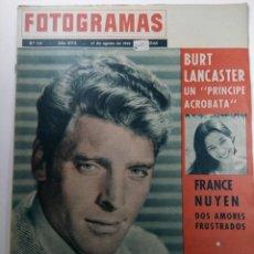 Cine: FOTOGRAMAS Nº 716 - AÑO XVII - 17 DE AGOSTO DE 1962. Lote 230380420