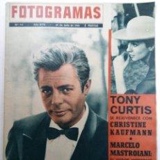 Cine: FOTOGRAMAS Nº 713 - AÑO XVII - 27 DE JULIO DE 1962. Lote 230380745