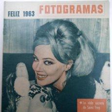 Cine: FOTOGRAMAS Nº 735 - AÑO XVII - 31 DE DICIEMBRE DE 1962. Lote 230381115