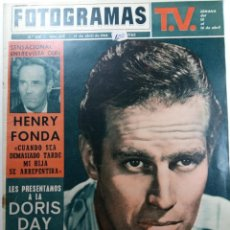 Cine: FOTOGRAMAS Nº 808 - AÑO XIX - 10 DE ABRIL DE 1964. Lote 230381440