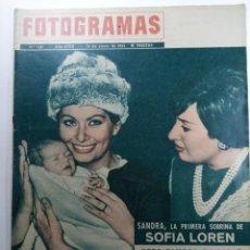 Cine: FOTOGRAMAS Nº 738 - AÑO XVIII - 18 DE ENERO DE 1963. Lote 230381560