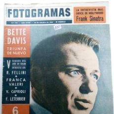 Cine: FOTOGRAMAS Nº 778 - AÑO XVIII - 25 DE OCTUBRE DE 1963. Lote 230381815