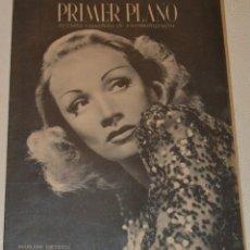 Cinema: MARLENE DIETRICH - 1943 - PRIMER PLANO. Lote 230396100