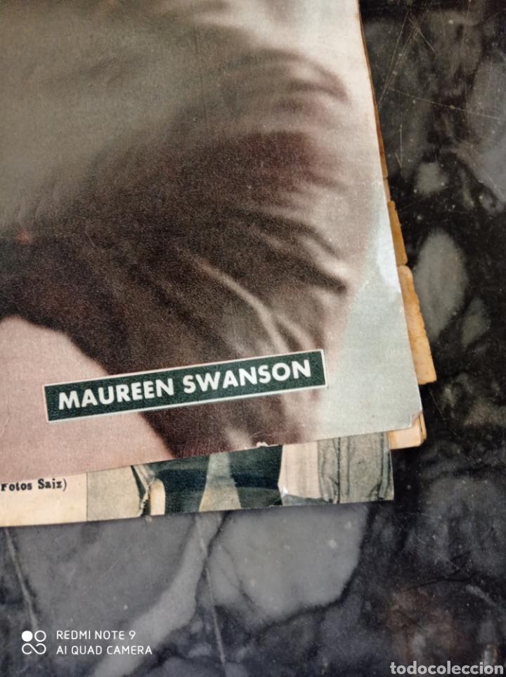 Cine: Revista cinematográfica Primer Plano. Maureen Swanson. Década de los 50 - Foto 3 - 230509515
