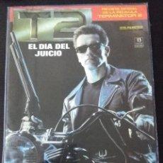 Cinema: REVISTA OFICIAL DE LA PELICULA TERMINATOR 2-ZINCO. Lote 230709475