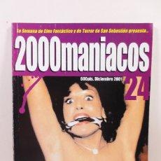 Cine: FANZINE 2000 MANÍACOS 24. Lote 230948070