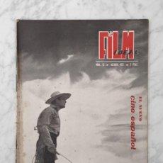 Cine: FILM IDEAL - Nº 12 - 1957 - CINE ESPAÑOL, TERE DEL RIO, MARIA ROSA SALGADO, J.A. BARDEM, BERLANGA. Lote 231046420