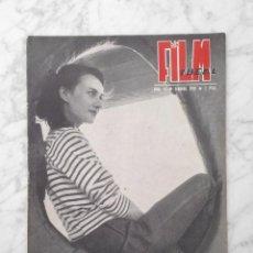Cine: FILM IDEAL - Nº 16 - 1958 - HUGUETTE HUE, CINE-CLUBS, ZAVATINI, ELENA SAMARINA. Lote 231051460