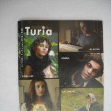 Cine: CARTELERA TURIA Nº 2818 2018 PORTADA PREMIOS GOYA 2018. Lote 231181200