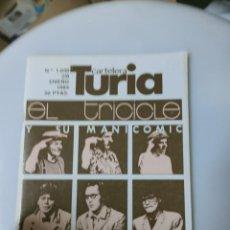 Cine: CARTELERA TURIA. N° 1039. VALENCIA, 1984. EL TRICICLE. Lote 254504360