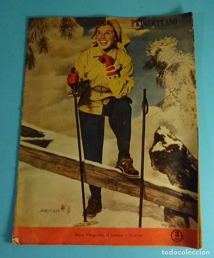 REVISTA PRIMER PLANO, MADRID 5 FEBRERO 1950, AÑO XI Nº 486, BARRY FITZGERALD, DORIS DAY (Cine - Revistas - Primer plano)